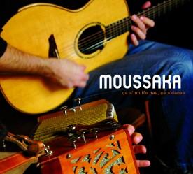 """Moussaka / pochette du disque """"ça s'bouffe pas, ça s'danse"""""""